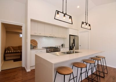 Twin Waters kitchen