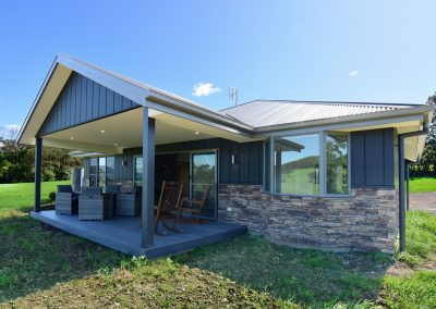 Far Meadow Cottage rear